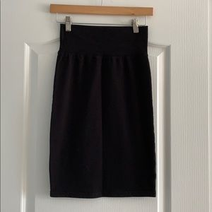 Aritzia Wilfred Cotton Pencil Skirt